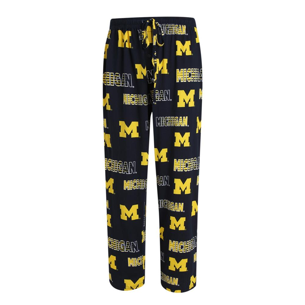 Men's Sweep Knit University of Michigan Wolverines Pajama Pants