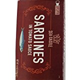 Sea Castle Sardines In Tomato Sauce Kosher For Passover 4.4 Oz. Pk Of 1.