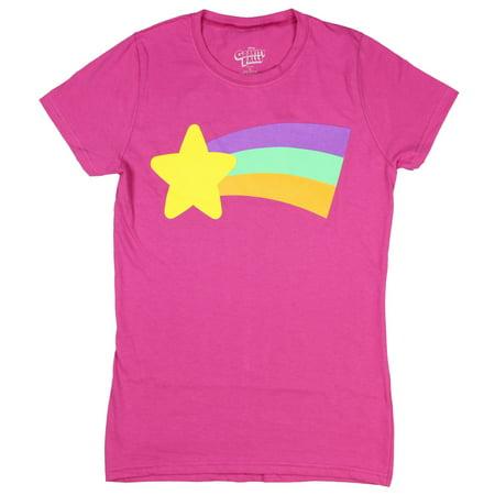 Disney Gravity Falls Juniors Mabel Rainbow T-Shirt](Mabel Gravity Falls)