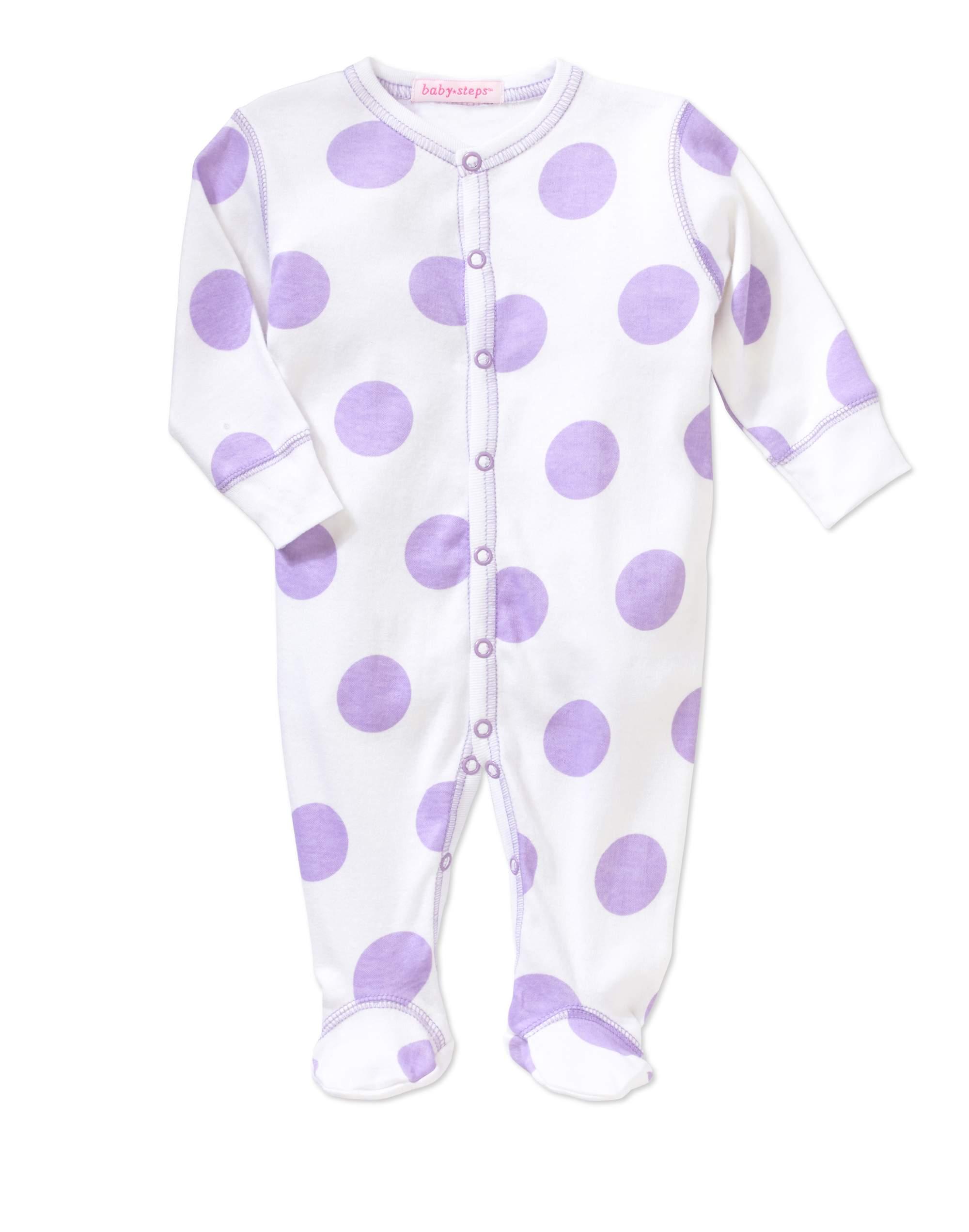 Newborn Baby Girl Footie Coverall Pajama