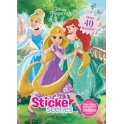 Disney Princess Sticker Scenes: Over 40 Stickers!