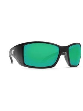 2567dae8e6 Product Image Costa Del Mar Polarized Blackfin BL11OSCP Black Rectangle  Sunglasses