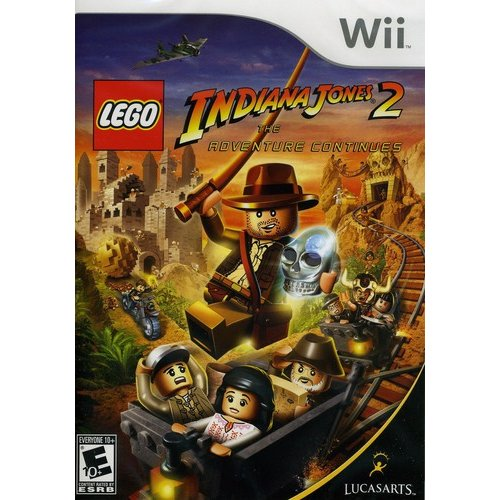 Lego Indiana Jones 2: Adventure Continues (Wii)