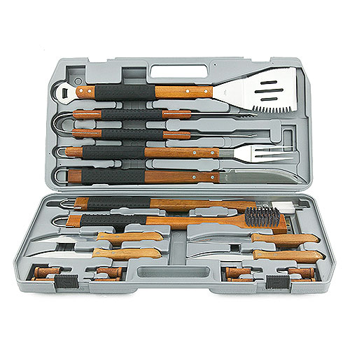 Mr. Bar-B-Q Finger-Grip 18-Piece Tool Set