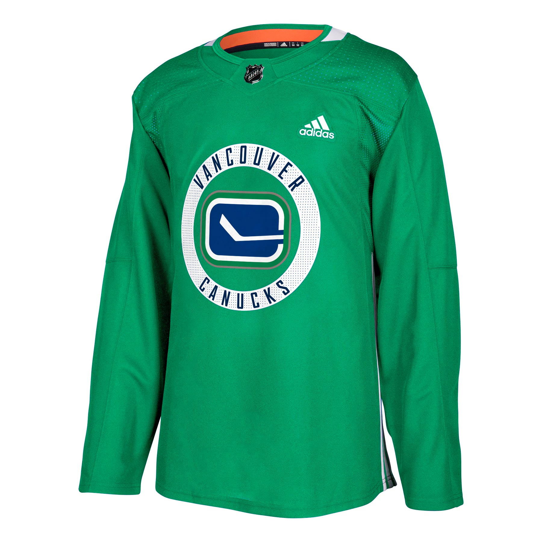 Vancouver Canucks Adidas Adizero NHL Authentic Pro Practice Jersey 4fb762057