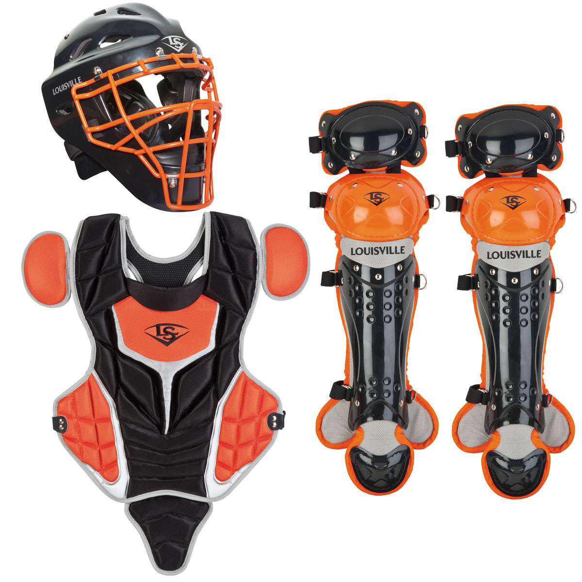 LOUISVILLE SLUGGER Series 5 Youth 3-Piece Catchers Gear S...