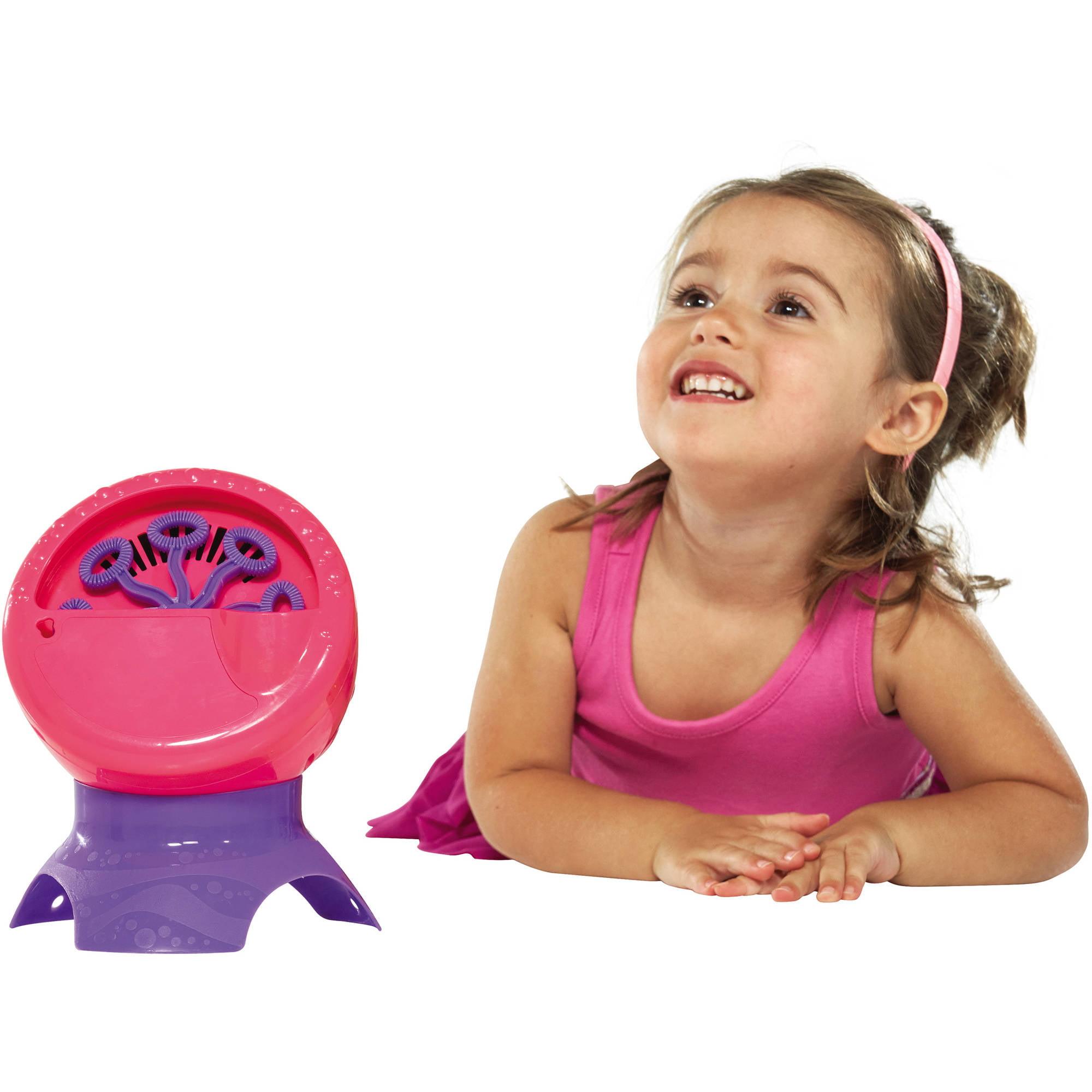 Little Kids Fubbles Bubble Blastin' Machine, Pink