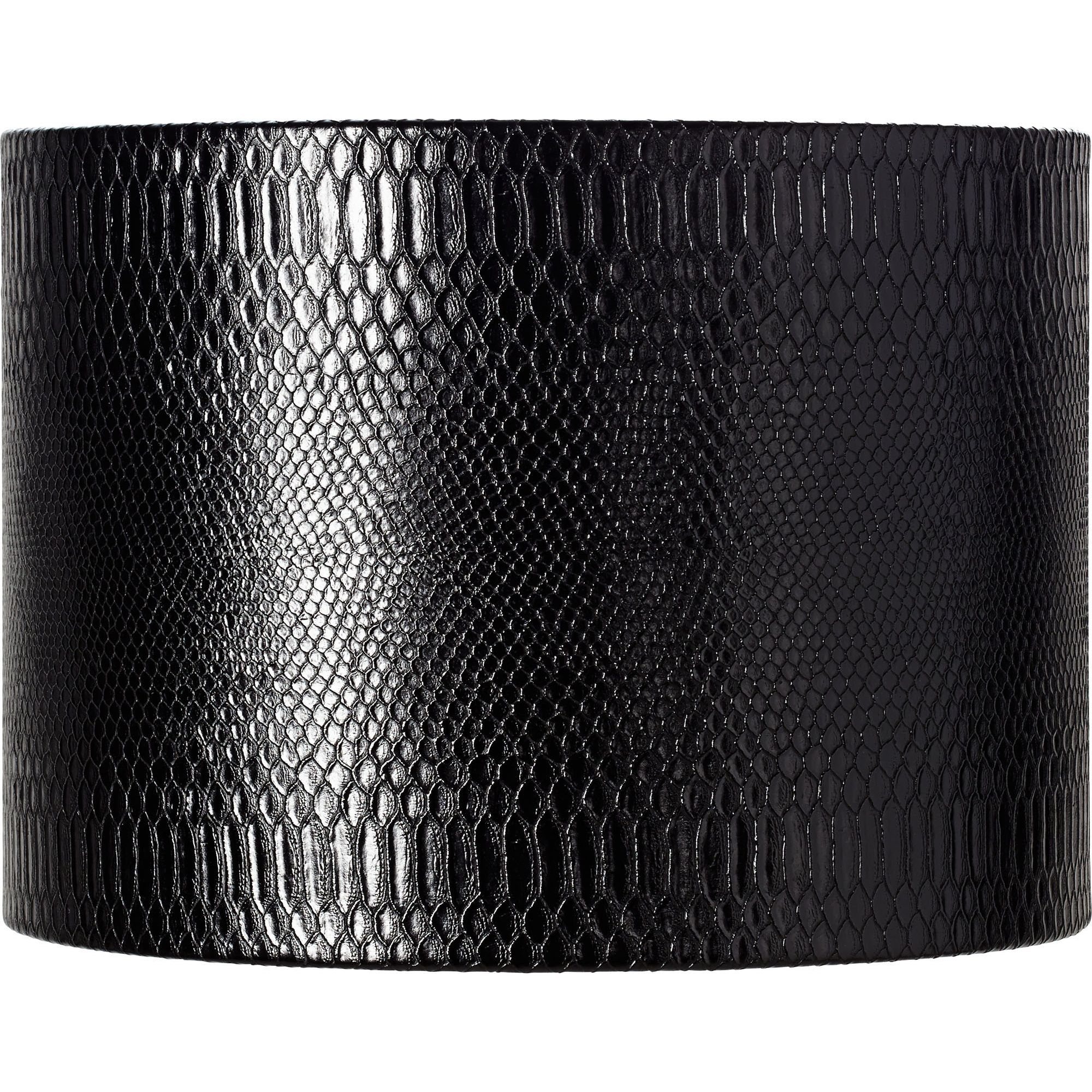 Springcrest Reptile Print Shade with Silver Lining 15x15x11 (Spider)