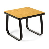 """OFM Model TABLE2020 20"""" End Table with Sled Base, Oak"""