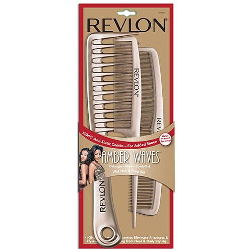 Rv2884 Revlon Amber Waves Wet Hair Combs