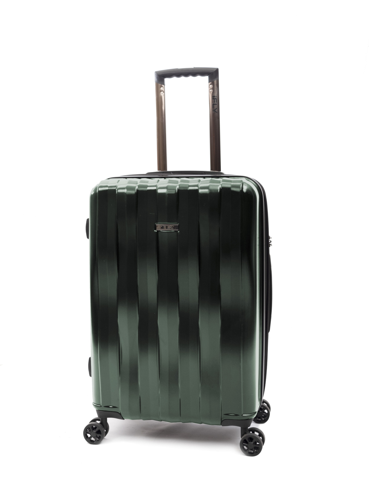 "iFLY Hard Sided Luggage Synergy 24"", Green"