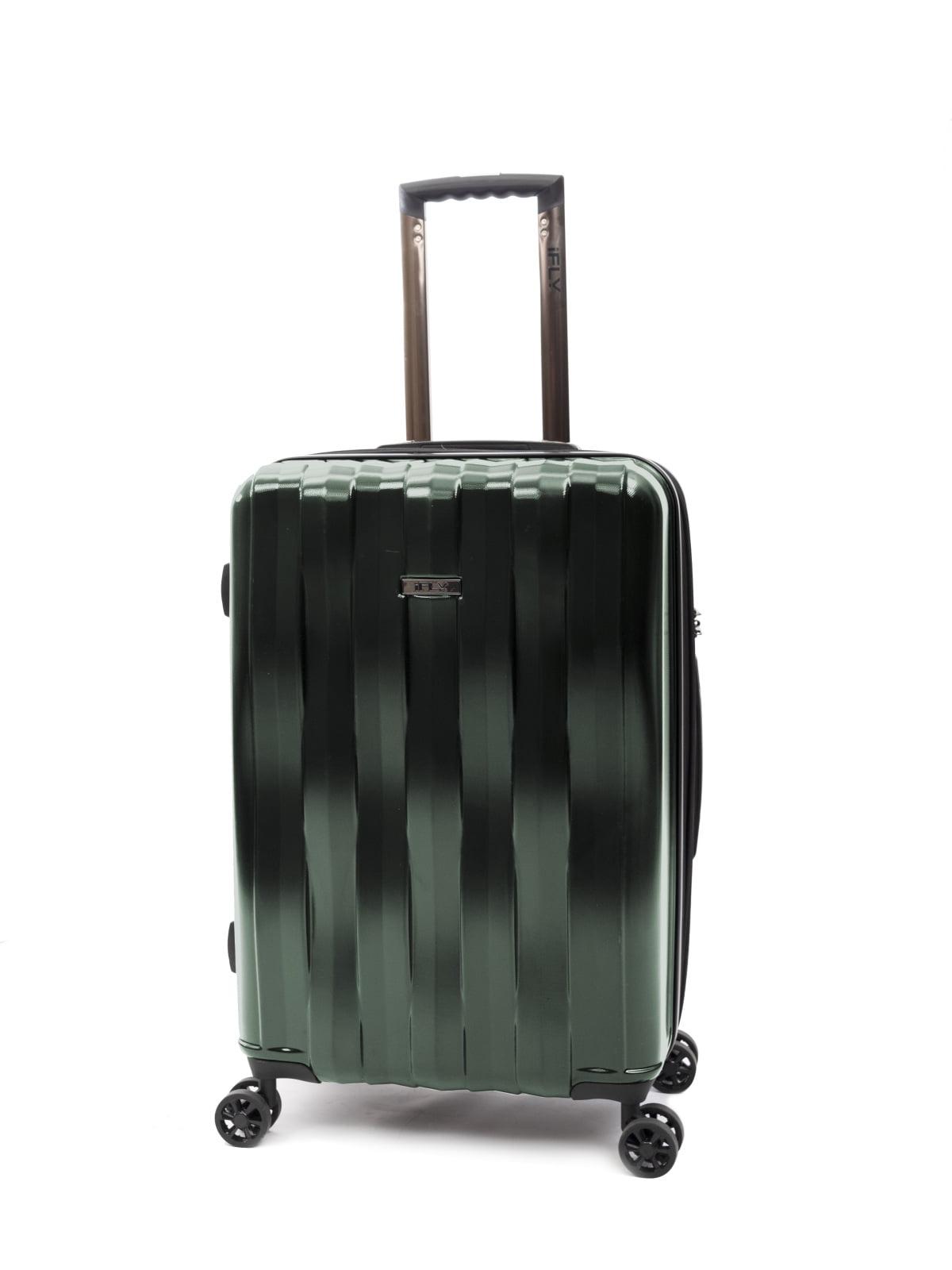 "iFLY Hardside Luggage Synergy 24"", Green"