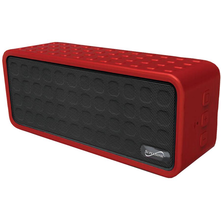 Supersonic SC-1366BT Rechargeable Portable Bluetooth Speaker, Blue