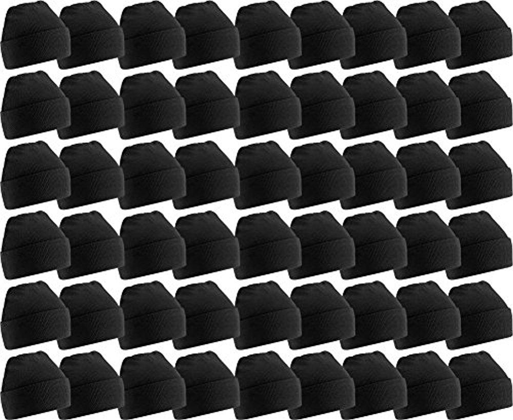 60 Pack Case Mens Womens Warm Winter Hats Wholesale Bulk, Unisex, by...