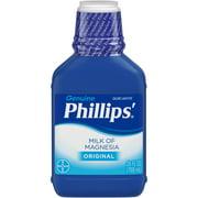 Phillips' Milk Of Magnesia Liquid Laxative, Original, 26 Fl Oz