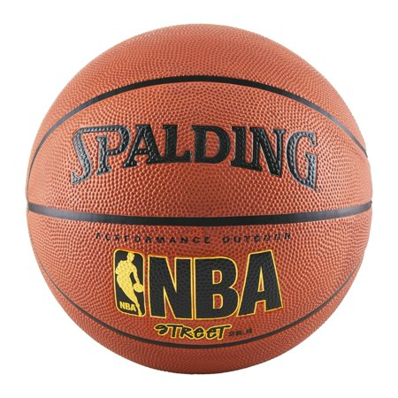 Spalding NBA Street Outdoor Basketball, Intermediate Size 6 (Best Champion Basketball Balls)