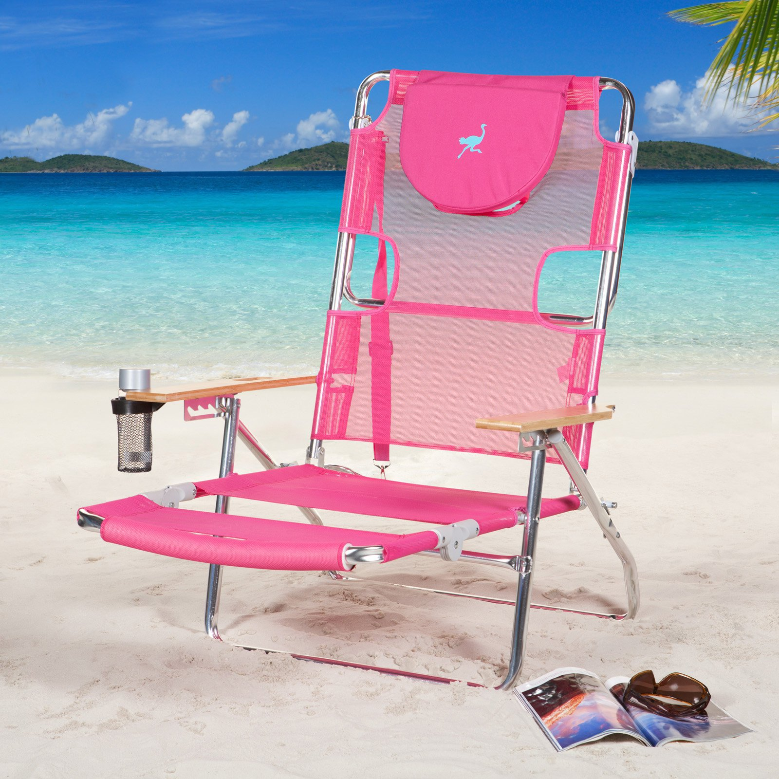 sc 1 st  Walmart & Ostrich 3-in-1 Beach Chair - Walmart.com