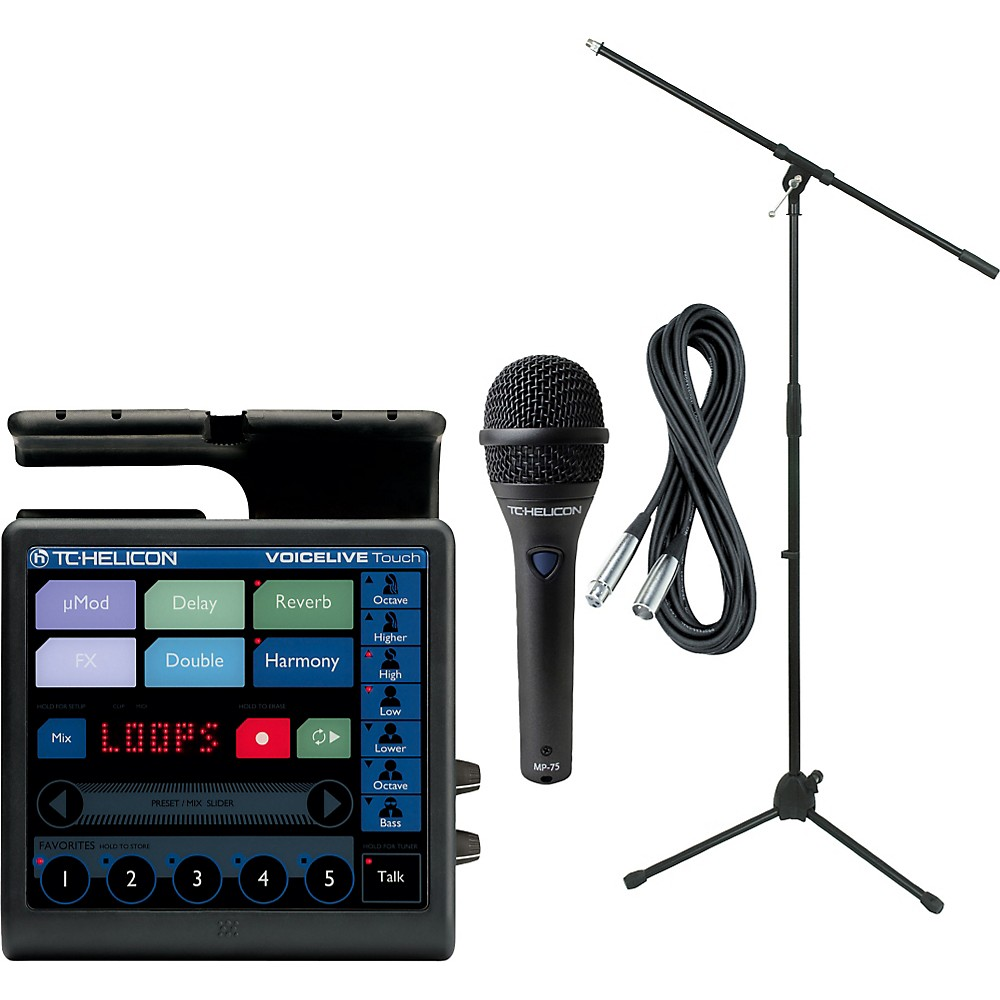 TC Helicon VoiceLive Touch with MP-75 Mic