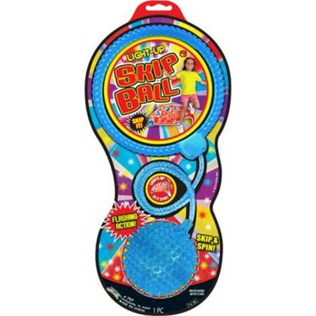 Light Up Spike Skip Ball, PartNo 707, by Ja-Ru Inc., Spring, Jump Ropes, Seasona](Ball That Lights Up)