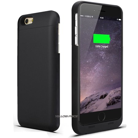 LivEditor Top Ultra Power Bank Battery Charger Phone Case Cover For iPhone 6 Plus, 6S Plus - image 2 de 7