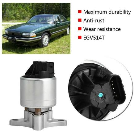 Ejoyous EGR Valve,EGR Valve for Chevrolet,EGV514T Car Vacuum Solenoid Modulator EGR Valve for Buick LeSabre Park Avenue Chevy Lumina ()
