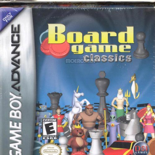 Chess/Checkers/Backgammon for Gameboy Advanced