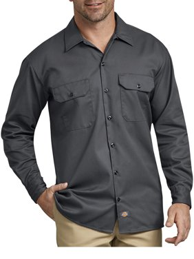 Dickies Men's Original Fit Long Sleeve Twill Work Shirt