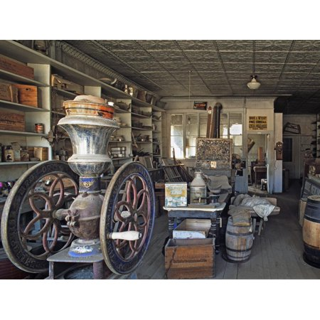 Boone's General Store in the Abandoned Mining Town of Bodie, Bodie State Historic Park, California Print Wall Art By Dennis (Quoizel Town Park)