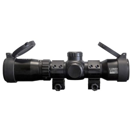 Killer Instinct Lumix Speed Ring 1.5-5x32 IR-E Crossbow Archery Scope #1020 (Scope For Pistol Crossbow)