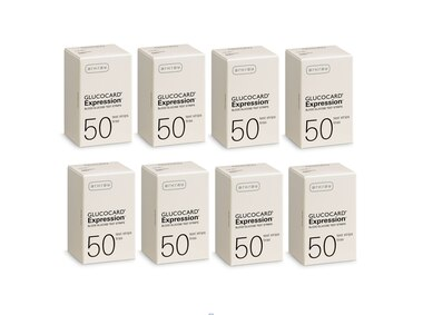 Arkray Glucocard Expression 400 Test Strips For GLucose Care