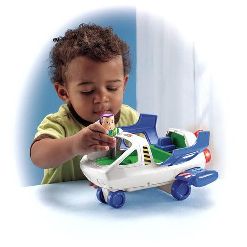 Fisher-Price Little People Disney Buzz Lightyear Spaceship