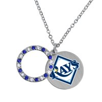 Game Time Offical MLB TAMPA BAY RAYS Disc Necklace