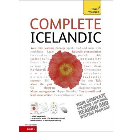 Complete Icelandic Beginner to Intermediate Course : (Book and audio support) Learn to read, write, speak and understand a new (Activities To Support Speech And Language Development)