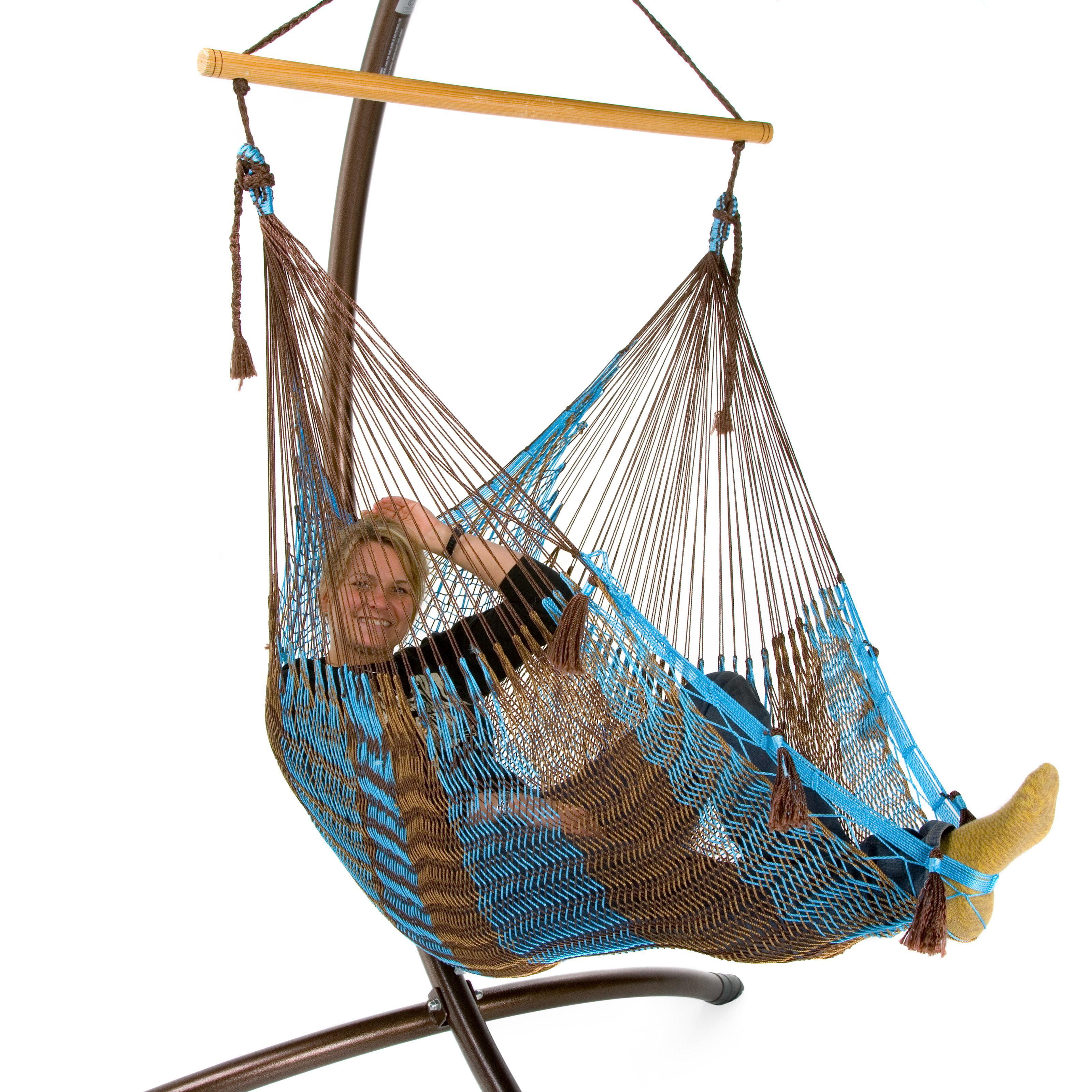 Island Bay Handmade Mayan Hammock Chair