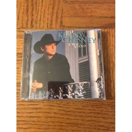 I Will Stand by Kenny Chesney CD Jul-1997 BNA (Kenny Chesney Halloween)