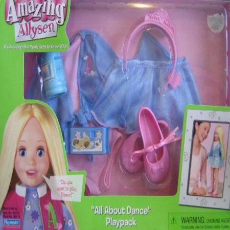 "Image of Amazing Allysen ""All About Dance"" Playpack - Ballet Set (2006)"