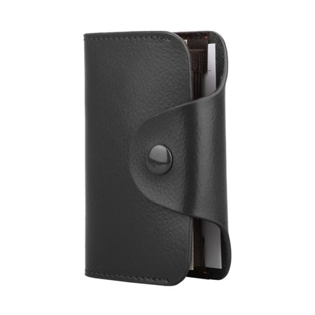 Fashion Leather Wallet Blocking Holder Credit Card Case Men Women Money (Money Credit Card Case)