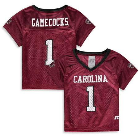 Toddler Russell Garnet South Carolina Gamecocks Replica Football Jersey