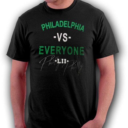 Philadelphia VS Everyone LII World Champs Black T-Shirt - X