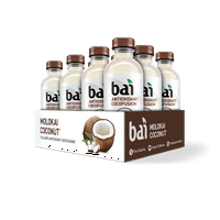 12-Pack Bai Molokai Coconut Antioxidant Infused Beverage