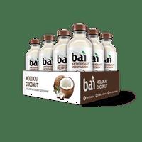 Bai Cocofusion Antioxidant Infused Beverage, Molokai Coconut, 18 Fl Oz, 12 Count