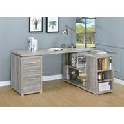 Yvette Office Desk in Grey Driftwood