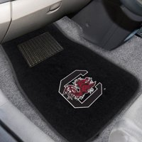 University of South Carolina Embroidered Car Mats