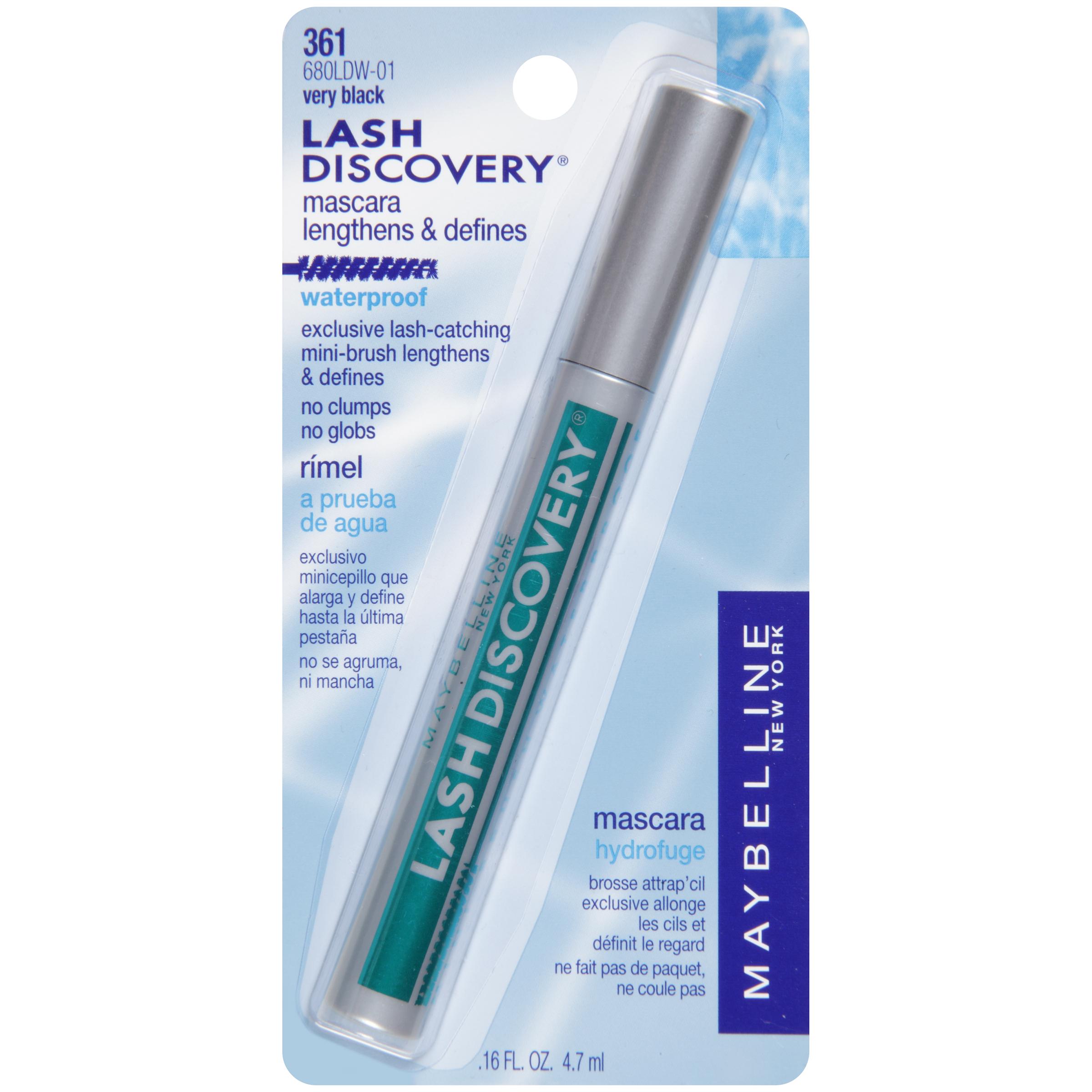 Maybelline Lash Discovery Mini-Brush Waterproof Mascara