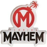 Florida Mayhem Overwatch League Team Logo Die-Cut Magnet