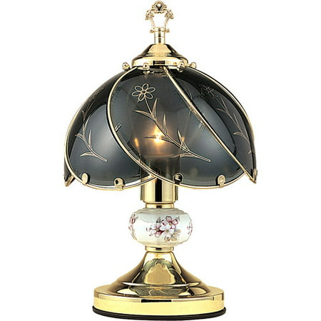 ORE International Floral Touch Lamp,