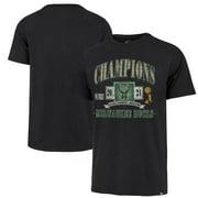 Milwaukee Bucks '47 2021 NBA Finals Champions Trophy Heritage T-Shirt - Black