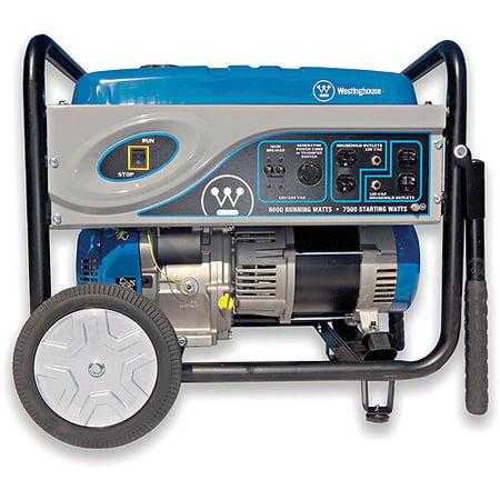 Westinghouse WH6000C CARB Compliant 6000-Watt Portable Generator