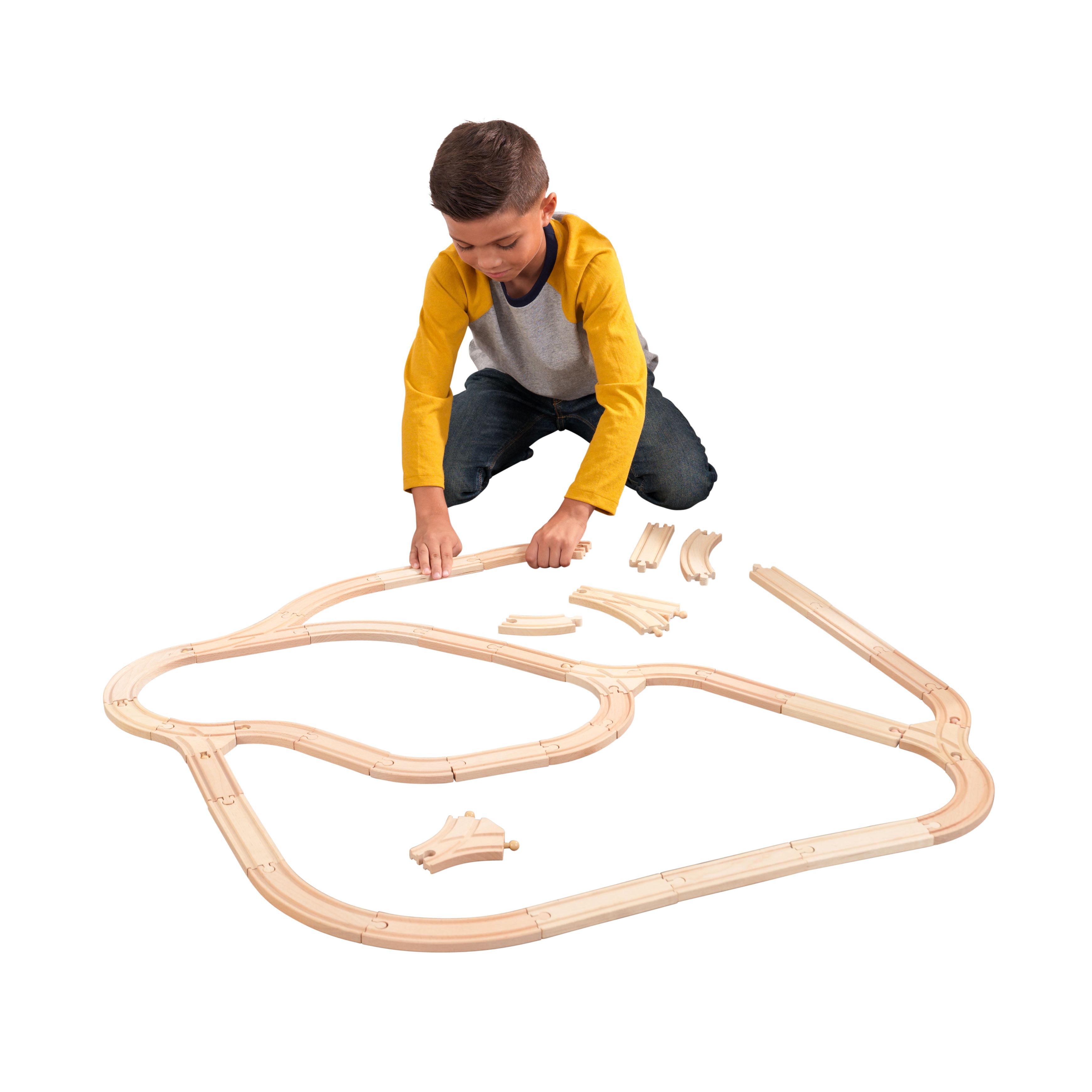 KidKraft Wooden Expansion Track Pack by KidKraft