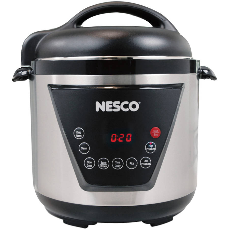 Nesco Pc6-13 Multifunction Pressure Cooker (6 qt; 1,000W)